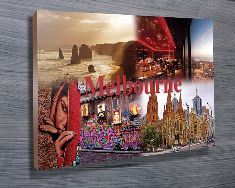 Melbourne City Wall Art Canvas Print Regarding Canvas Wall Art In Melbourne (View 10 of 15)