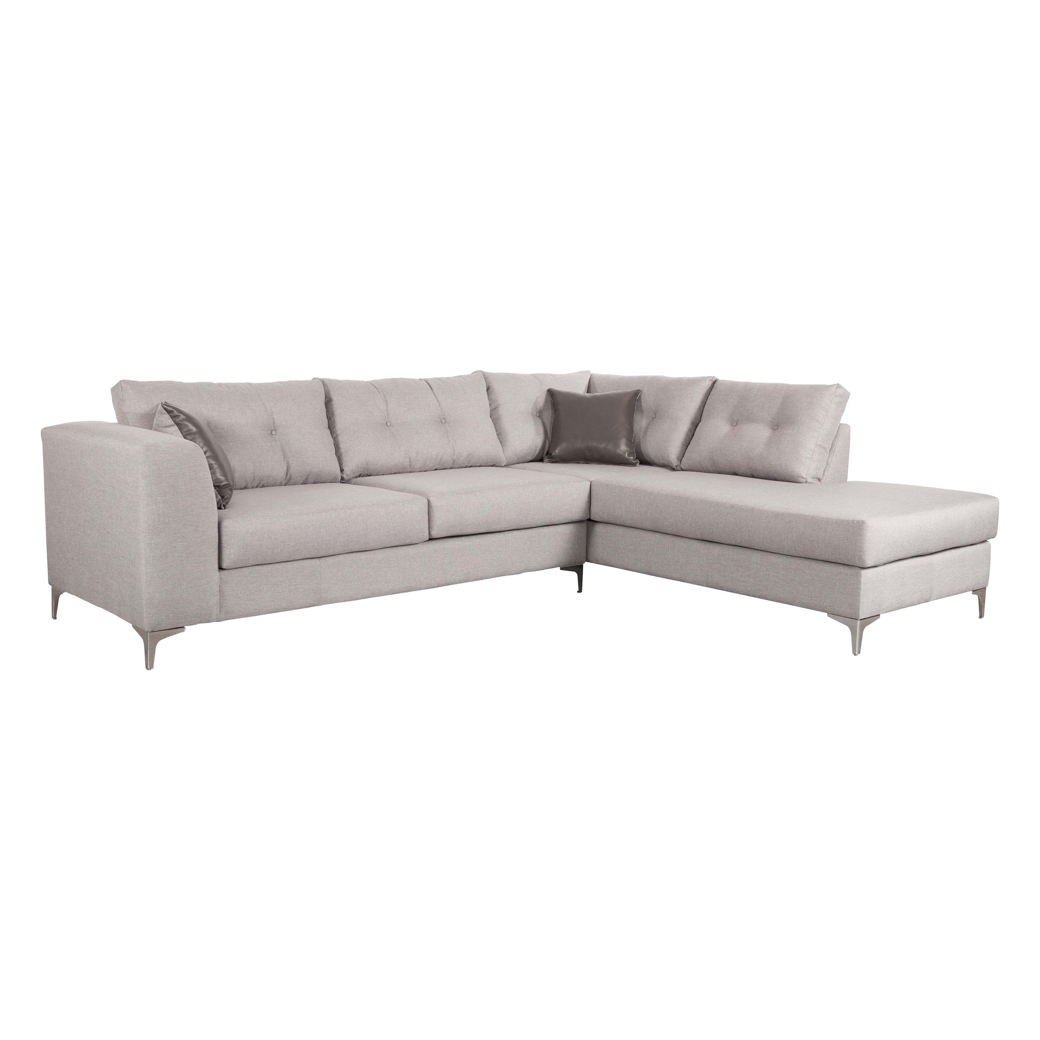 Memphis Sectional Smoke – Free Shipping Today – Overstock – 17534107 Throughout Memphis Sectional Sofas (Image 5 of 10)