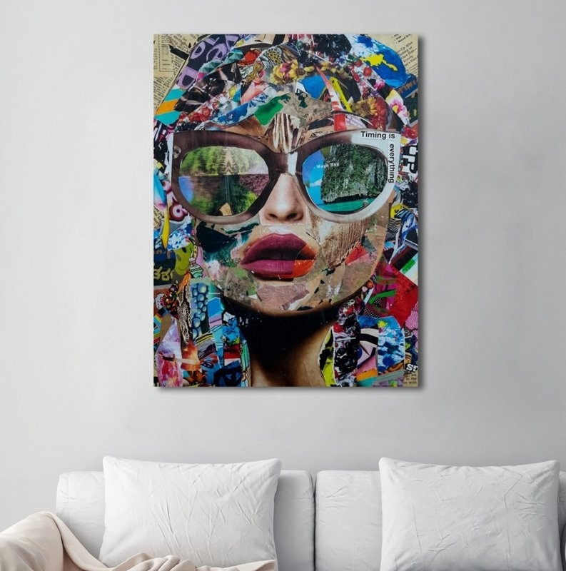 Mercury Row 'timing Is Everything' Graphic Art On Wrapped Canvas Within Canvas Wall Art At Wayfair (Image 7 of 15)