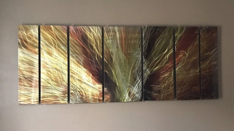 Metal Abstract Wall Art | Arts & Collectibles | Calgary | Kijiji In Ottawa Abstract Wall Art (View 11 of 15)