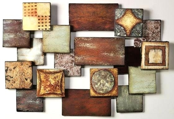 Metal Abstract Wall Art Full Size Of Modern Metal Abstract Wall For Geometric Modern Metal Abstract Wall Art (Image 9 of 15)