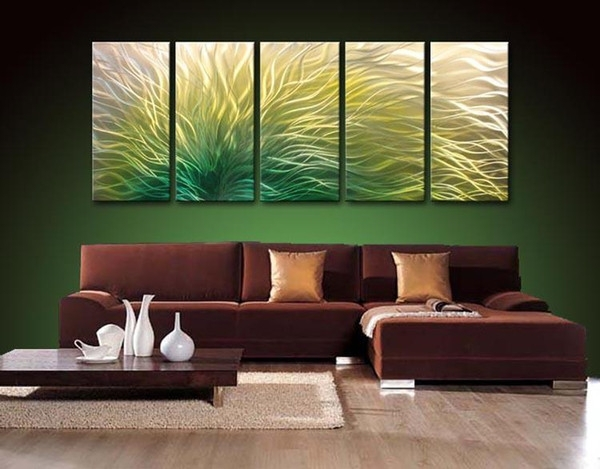 Metal Oil Painting,abstract Metal Wall Art Sculpture Painting For Abstract Metal Wall Art Painting (Image 8 of 15)