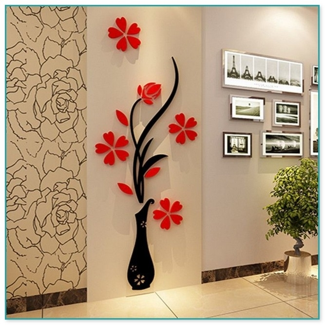 Metal Tree Wall Art Kohls Inside Adhesive Art Wall Accents (View 12 of 15)