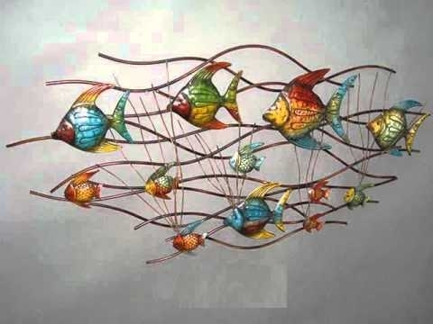 Metal Wall Décor Collection | Metal Metal Wall Art Ideas – Youtube Within Abstract Leaf Metal Wall Art (Image 8 of 15)