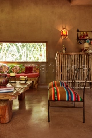 Mexican Blankets Used As Upholstery – Use As Wall Art Too (Image 10 of 15)