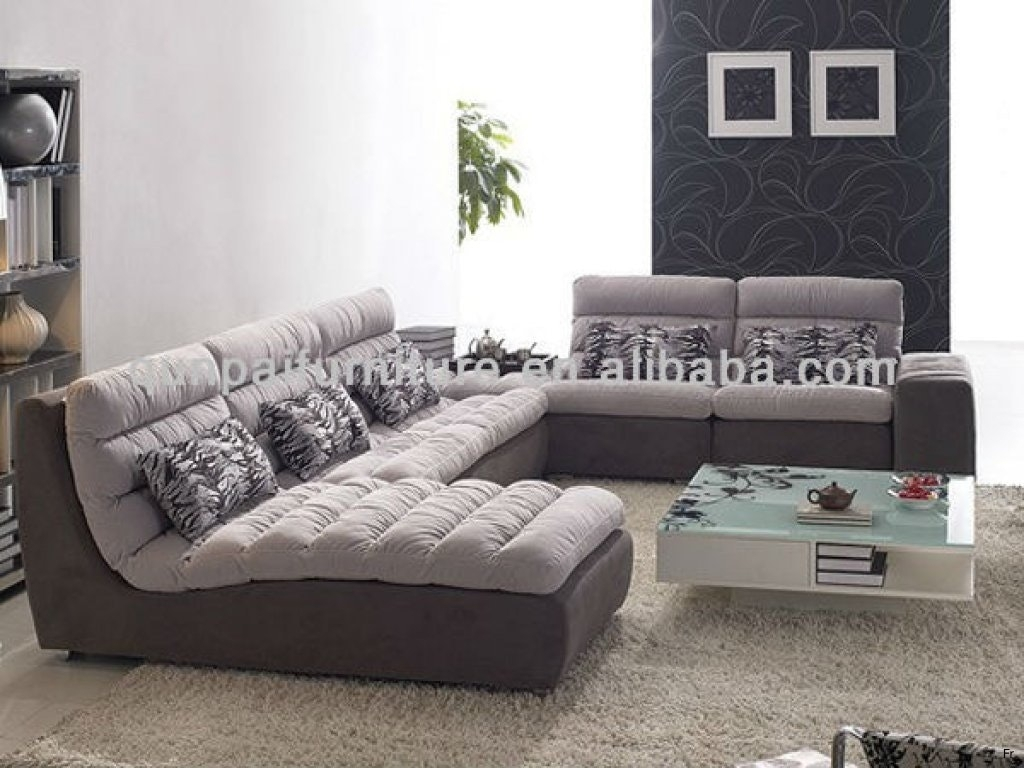 Mg 8289 Down Sectional Sofa Modern Couch Los Angeles Living Room Inside Down Filled Sofas (Image 6 of 10)
