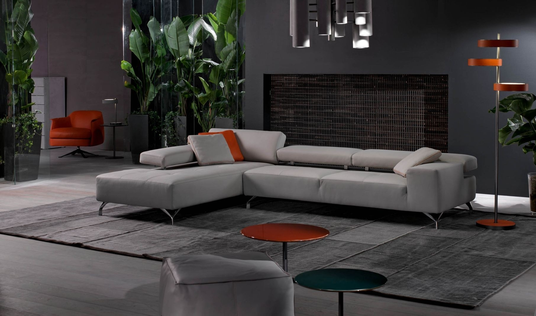 Miami Modern Sectional Sofa | Cierre Imbottiti For Miami Sectional Sofas (View 5 of 10)