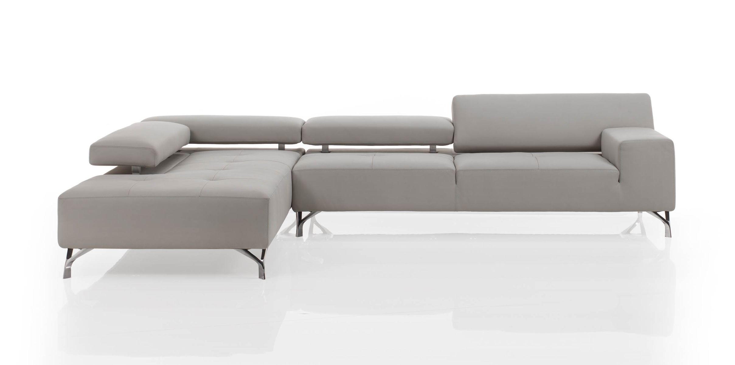 Miami Modern Sectional Sofa | Cierre Imbottiti Regarding Miami Sectional Sofas (View 2 of 10)
