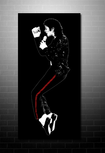 Michael Jackson Canvas Pertaining To Michael Jackson Canvas Wall Art (Image 11 of 15)
