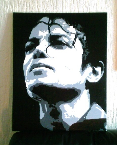 Michael Jackson Pop Art Canvascovtown31 On Deviantart For Michael Jackson Canvas Wall Art (Image 13 of 15)