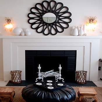 Mirror Over Fireplace Design Ideas Inside Over The Fireplace Decor Within Wall Accents Over Fireplace (Image 12 of 15)