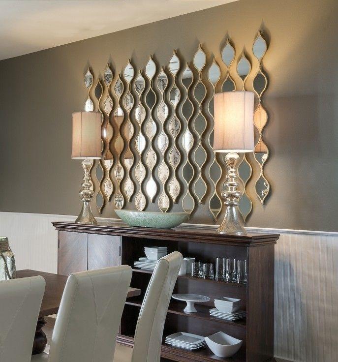 Mirror Wall Decor Decor Wall Mirrors Novicapco – Custom Decor Pertaining To Mirrors Wall Accents (Image 8 of 15)