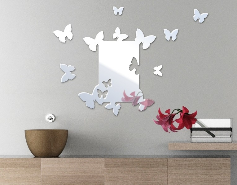 Mirror Wall Decor – Highly Elegant | Wall Decor Ideas For Mirrors Wall Accents (Image 7 of 15)