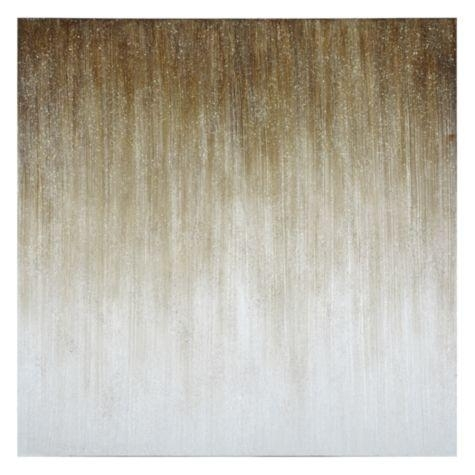 Mist Within Glitter Canvas Wall Art (View 13 of 15)
