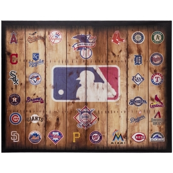 Mlb Logos Canvas Wall Decor | Hobby Lobby | 537985 Throughout Hobby Lobby Canvas Wall Art (Image 9 of 15)