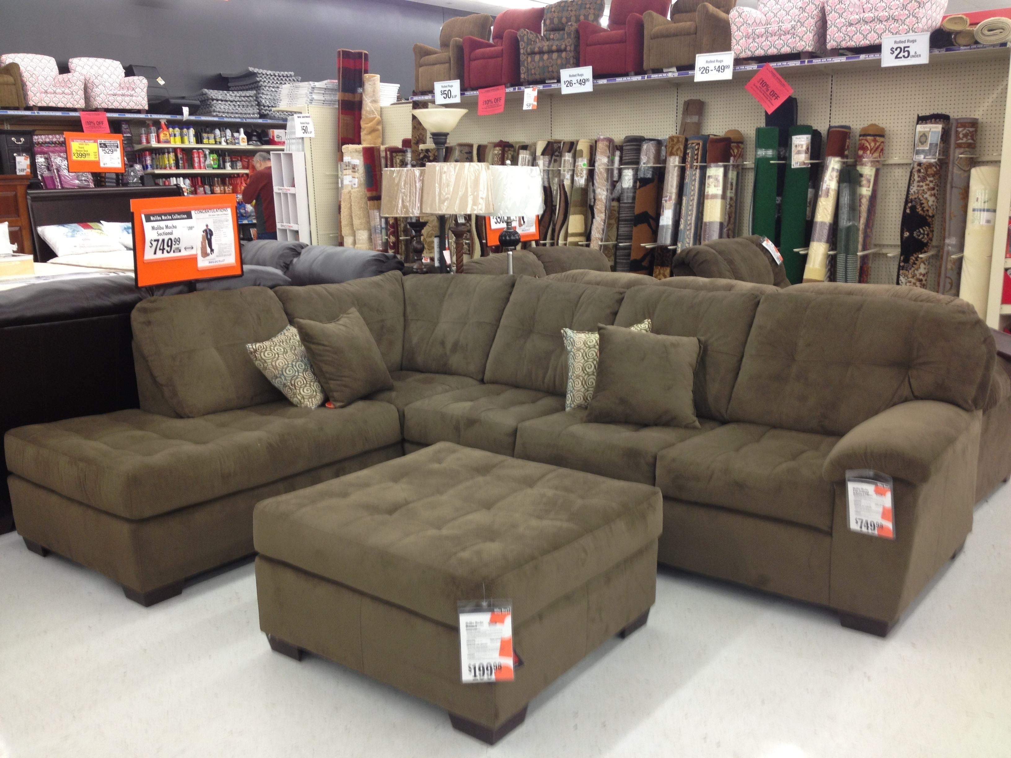 Featured Photo of Sectional Sofas At Big Lots