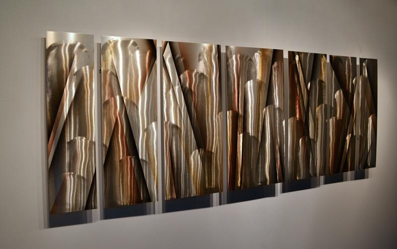Modern Abstract Metal Wall Art Sculpture Best Large In Decorations In Abstract Metal Wall Art Sculptures (View 5 of 15)