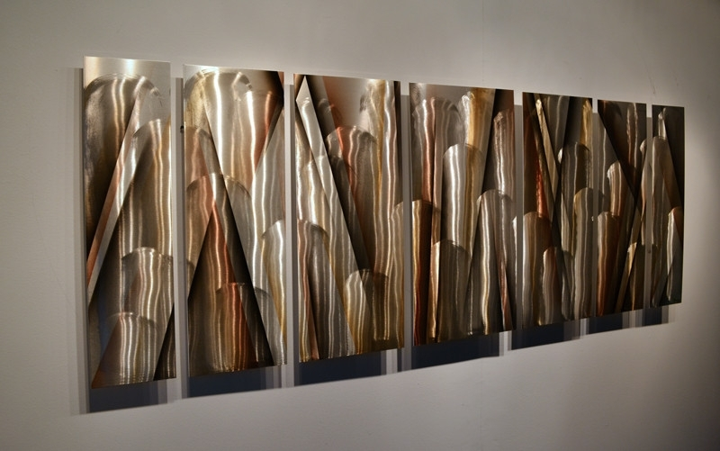 Modern Abstract Metal Wall Art Sculpture Best Large In Decorations Pertaining To Modern Abstract Huge Wall Art (View 9 of 15)