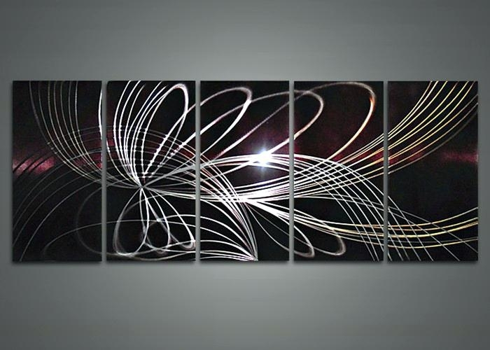 Modern Abstract Metal Wall Art Sculpture – Bestonline Pertaining To Abstract Metal Wall Art With Clock (View 13 of 15)