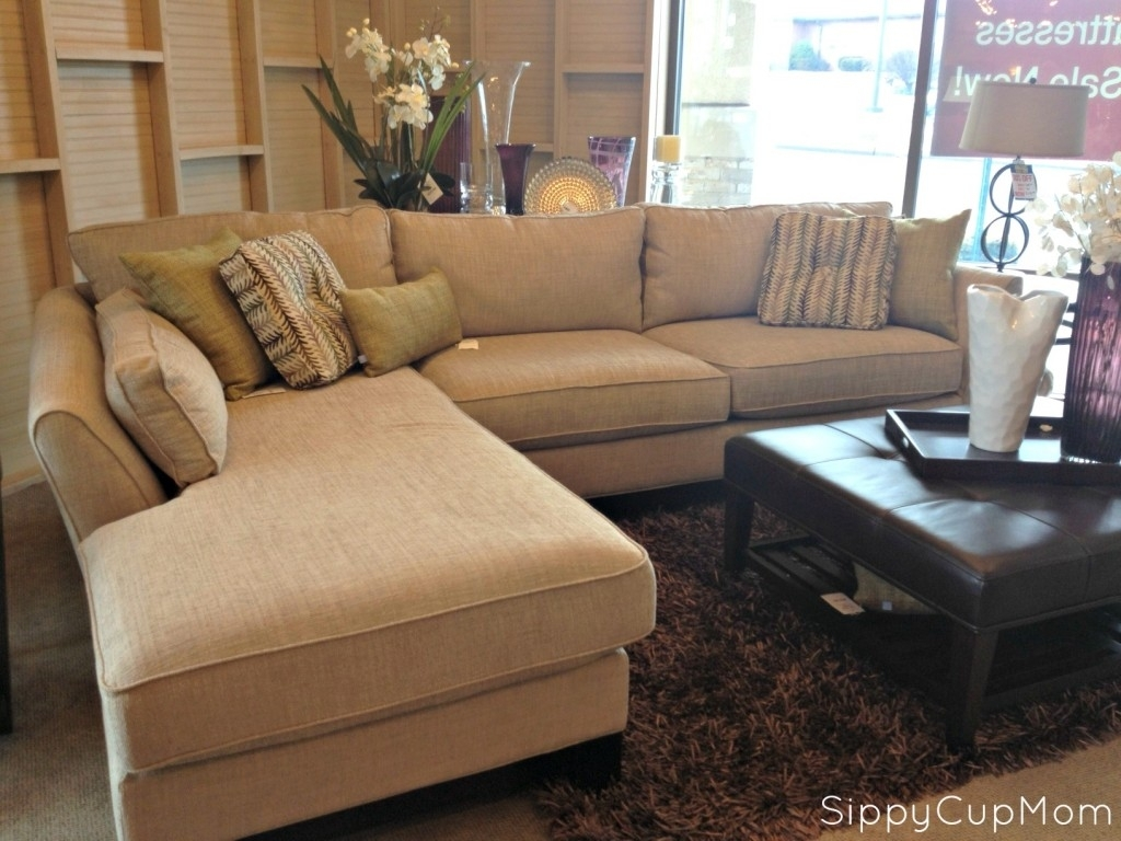 Modern Brown 2 Piece Lazy Boy Sectional With Chaise | House Throughout Sectional Sofas At Bad Boy (View 9 of 10)