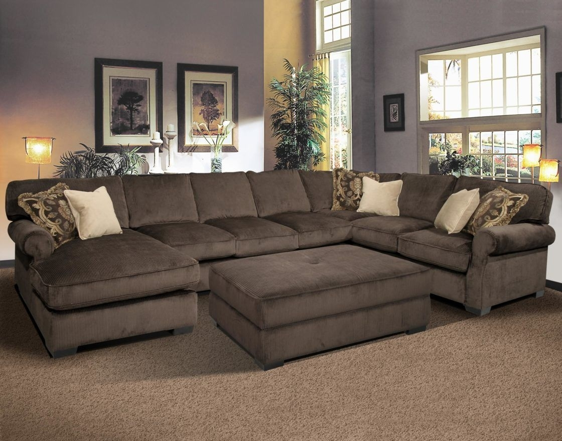 Modern Fabric Sectional Sofas With Chaise | Http://hotel Ivato With Sectionals With Chaise And Ottoman (View 4 of 10)
