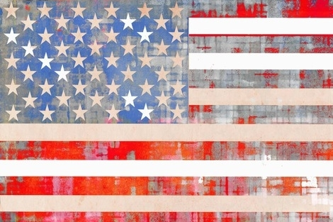 Modern Fabric Wall Art | Buy Quality Home Arttop Artists – 2Modern Pertaining To American Flag Fabric Wall Art (Image 9 of 15)