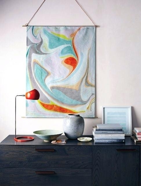 Modern Fabric Wall Art – Cityofhope (View 10 of 15)