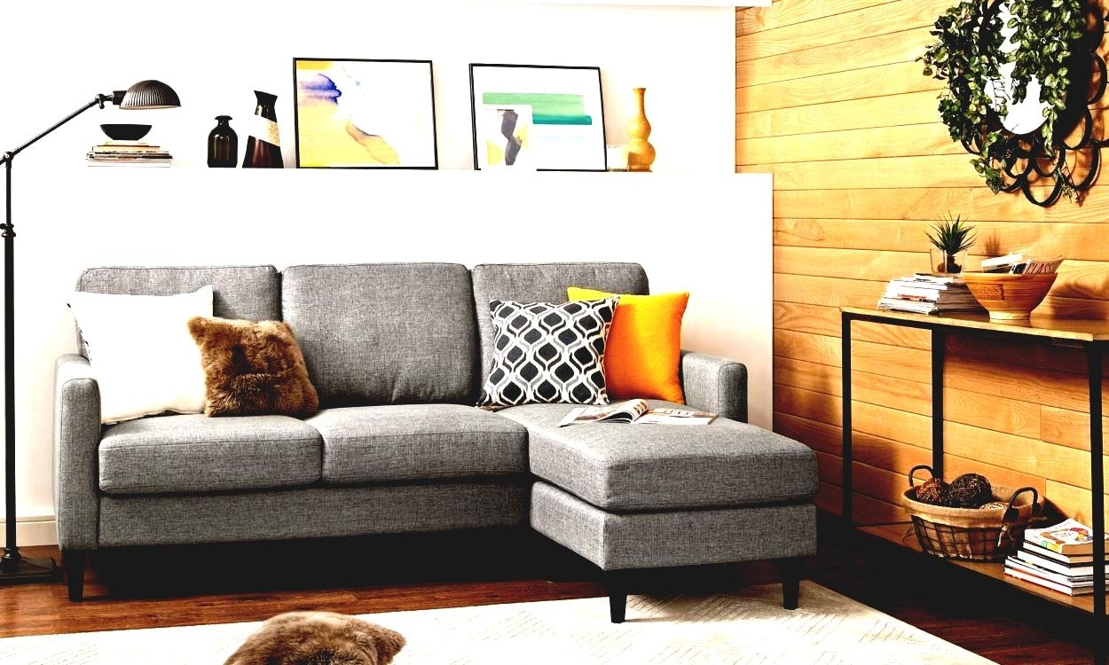 Modern Furniture Small Spaces Scale Sectional Sofas | Modern Home Intended For Sectional Sofas For Small Areas (View 10 of 10)