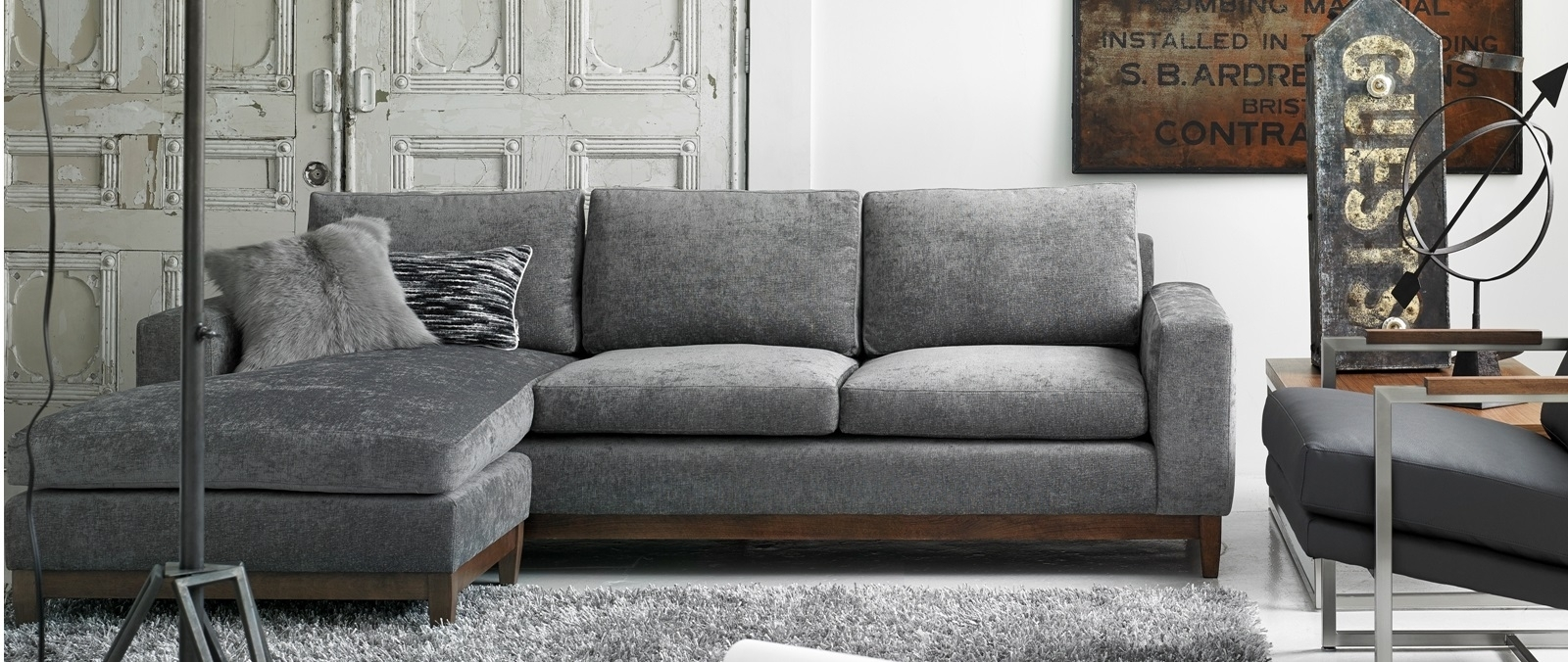 Modern Furniture Store Montreal And Ottawa | Mikazahome With Ottawa Sale Sectional Sofas (View 3 of 10)