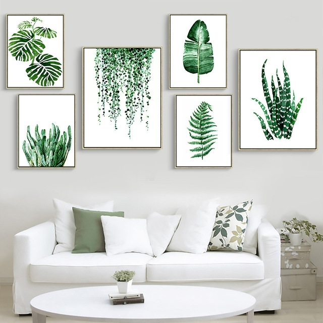 Featured Image of Leaves Canvas Wall Art