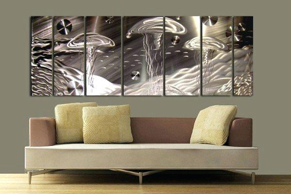 Modern Metal Wall Decor Sculpture S Animal Kingdom Art Clock Pertaining To Kingdom Abstract Metal Wall Art (Image 8 of 15)