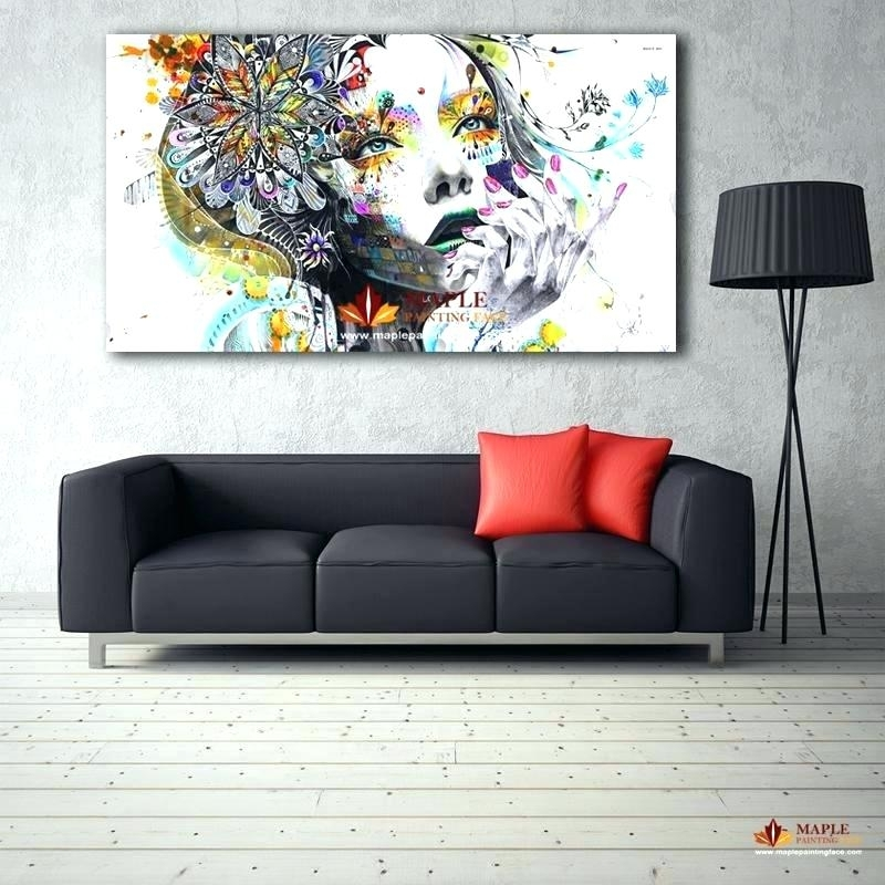 Modern Oversized Wall Art – Evisu Within Modern Abstract Huge Wall Art (View 8 of 15)