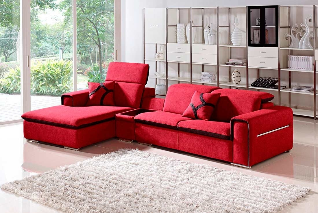 Featured Image of Red Sectional Sofas