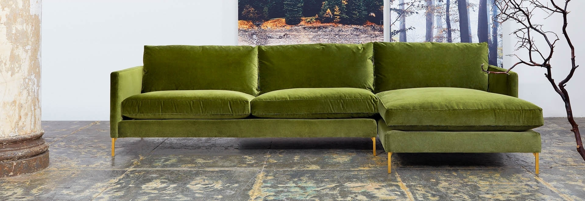Modern Sectional Sofas For Nyc Apartments At Abc Home With Nyc Sectional Sofas (View 3 of 10)