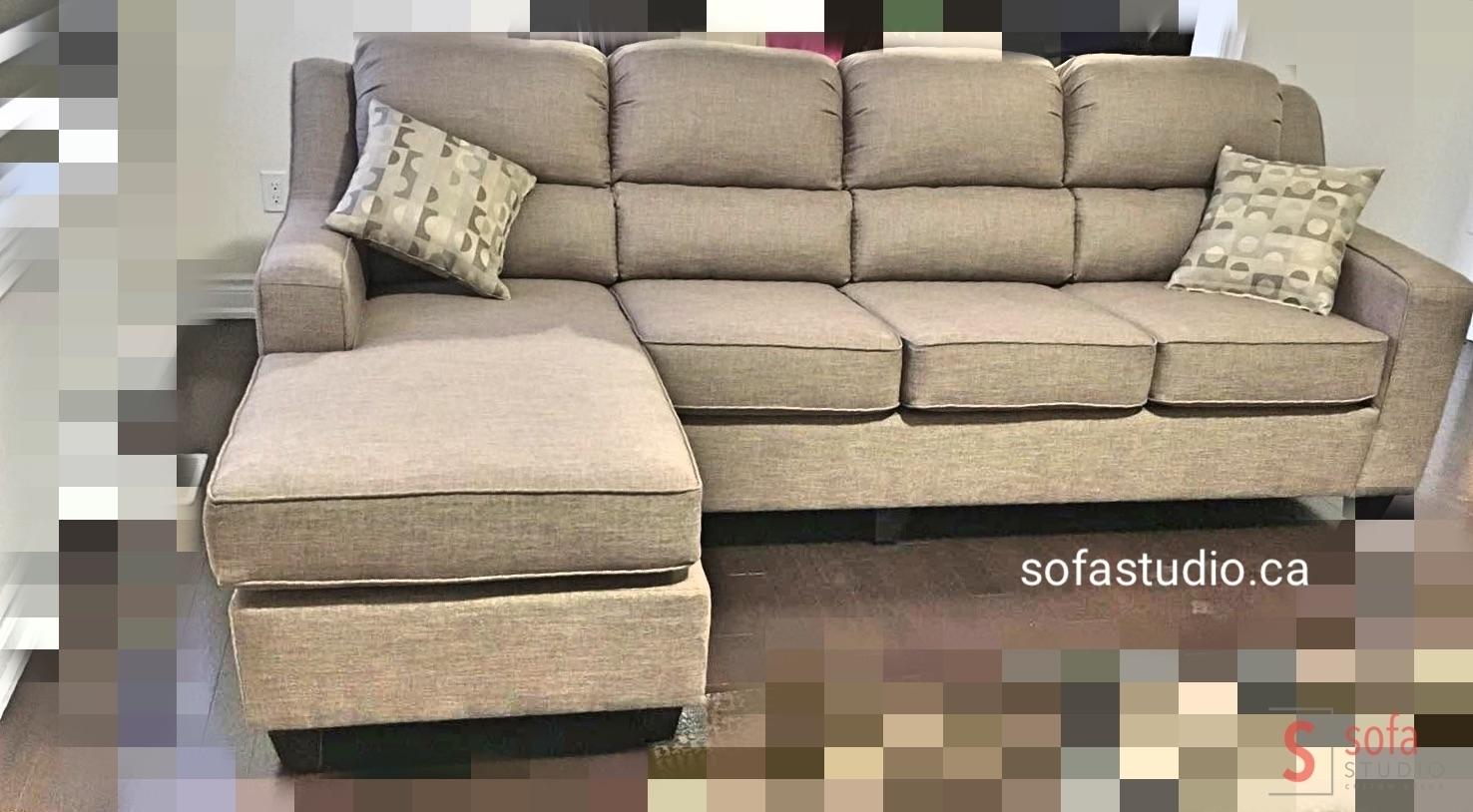 Modern Sofa Design In Leather , Sofa Factory Brampton , Custom With Regard To Sectional Sofas At Brampton (Image 6 of 10)