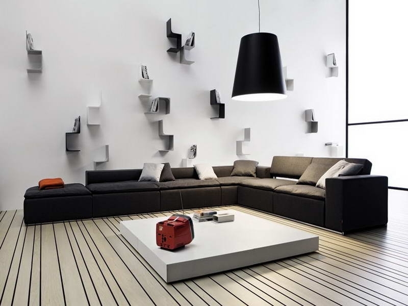Modern Wall Decorations Modern Wall Decorating Ideas Decor Dma Regarding Modern Wall Accents (Image 13 of 15)
