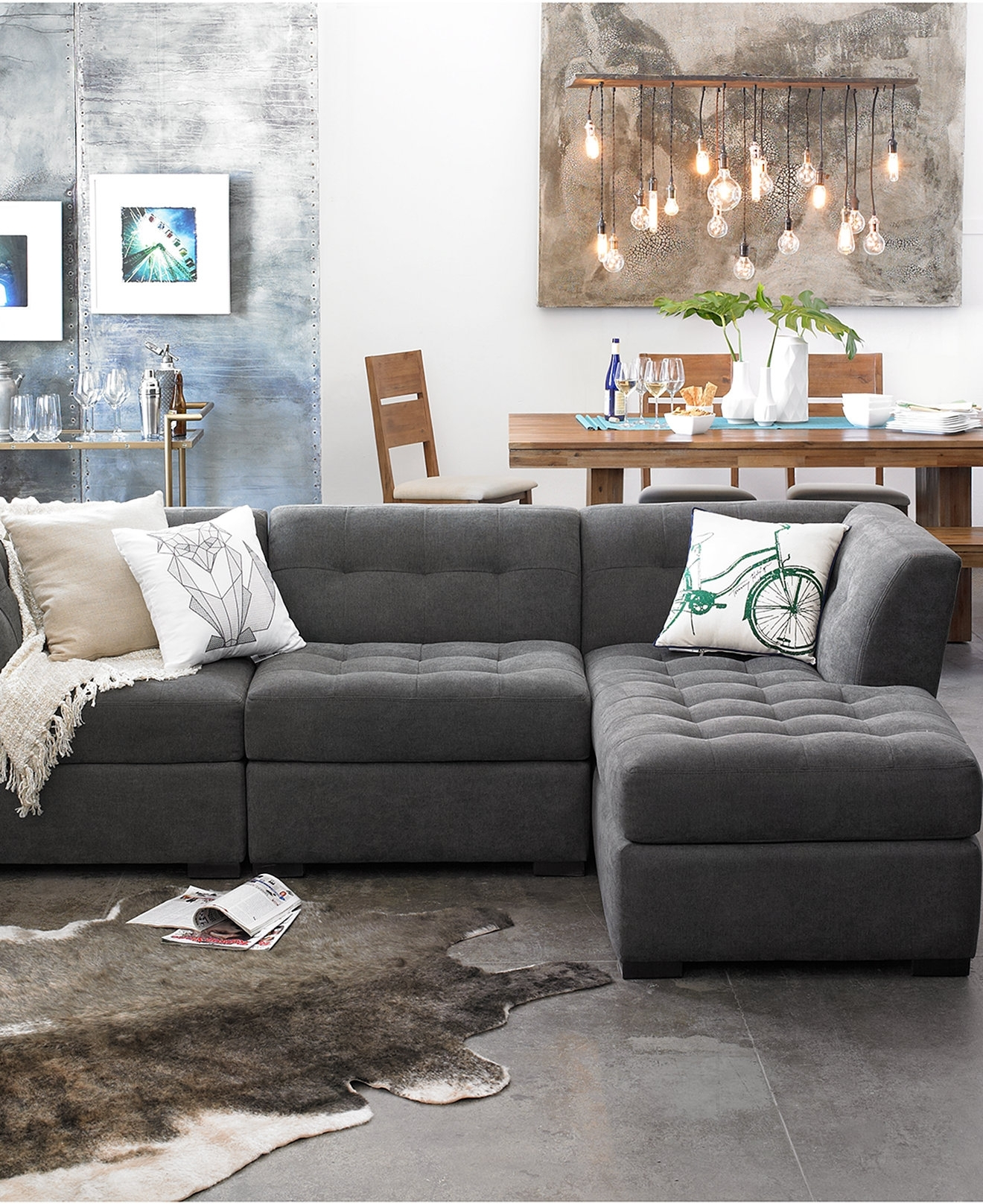 Modular Sectional Sofa Furniture Ashley Piece Costco Canada Pieces Throughout Canada Sectional Sofas For Small Spaces (Image 5 of 10)