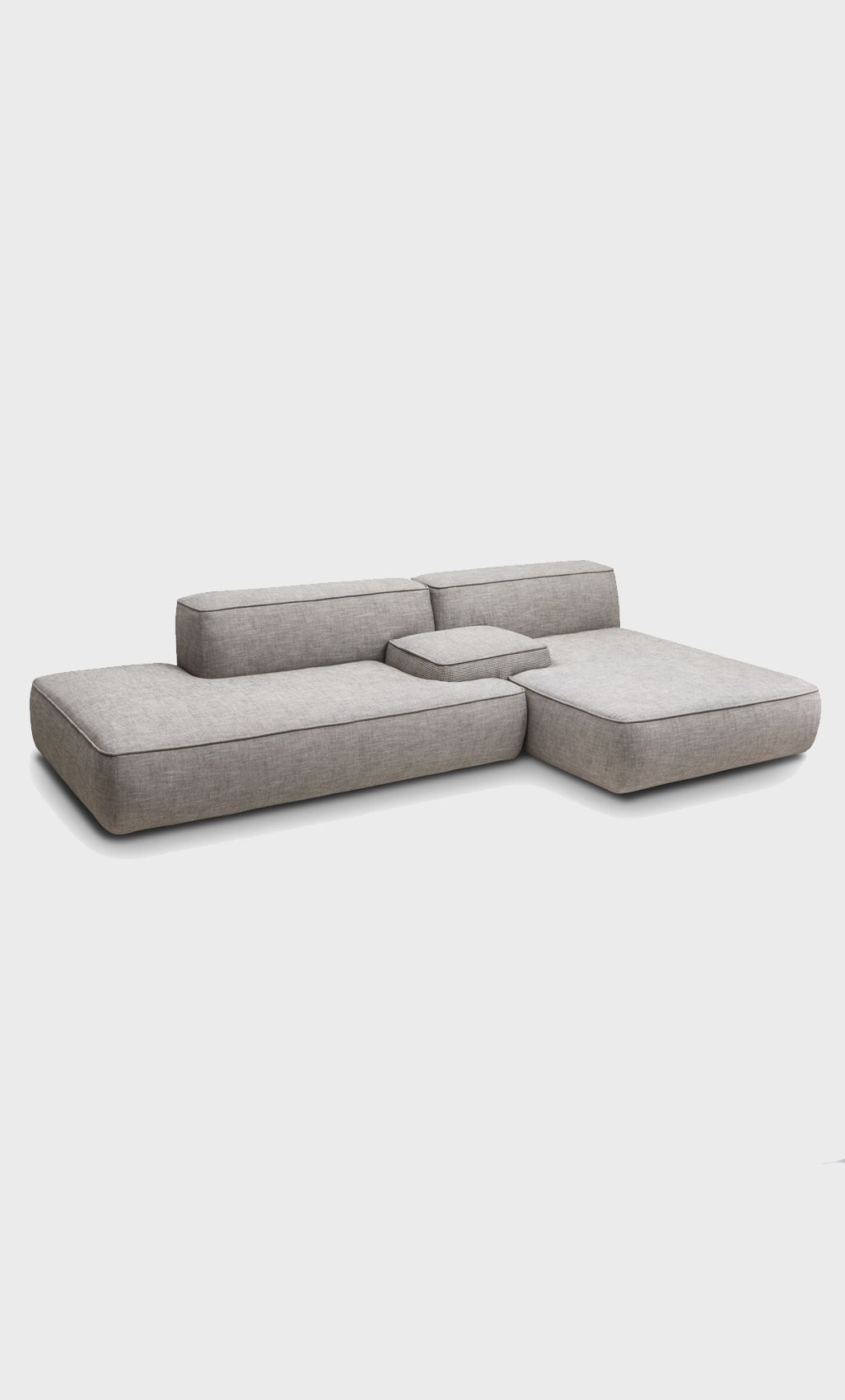 Modular Sofa: No Legs Or Really Small Low Legs | Furniture 2 Within Low Sofas (Image 7 of 10)