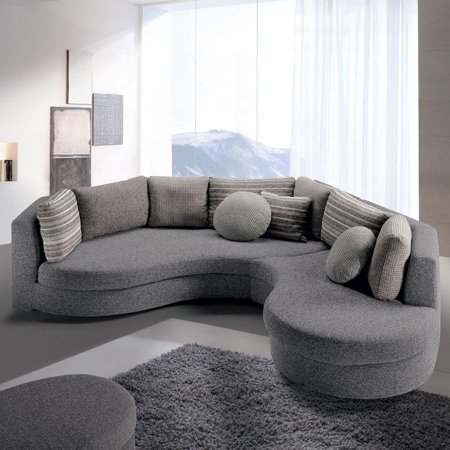 Modular Sofa / Semicircular / Contemporary / Fabric – Felis Style With Semicircular Sofas (View 8 of 10)