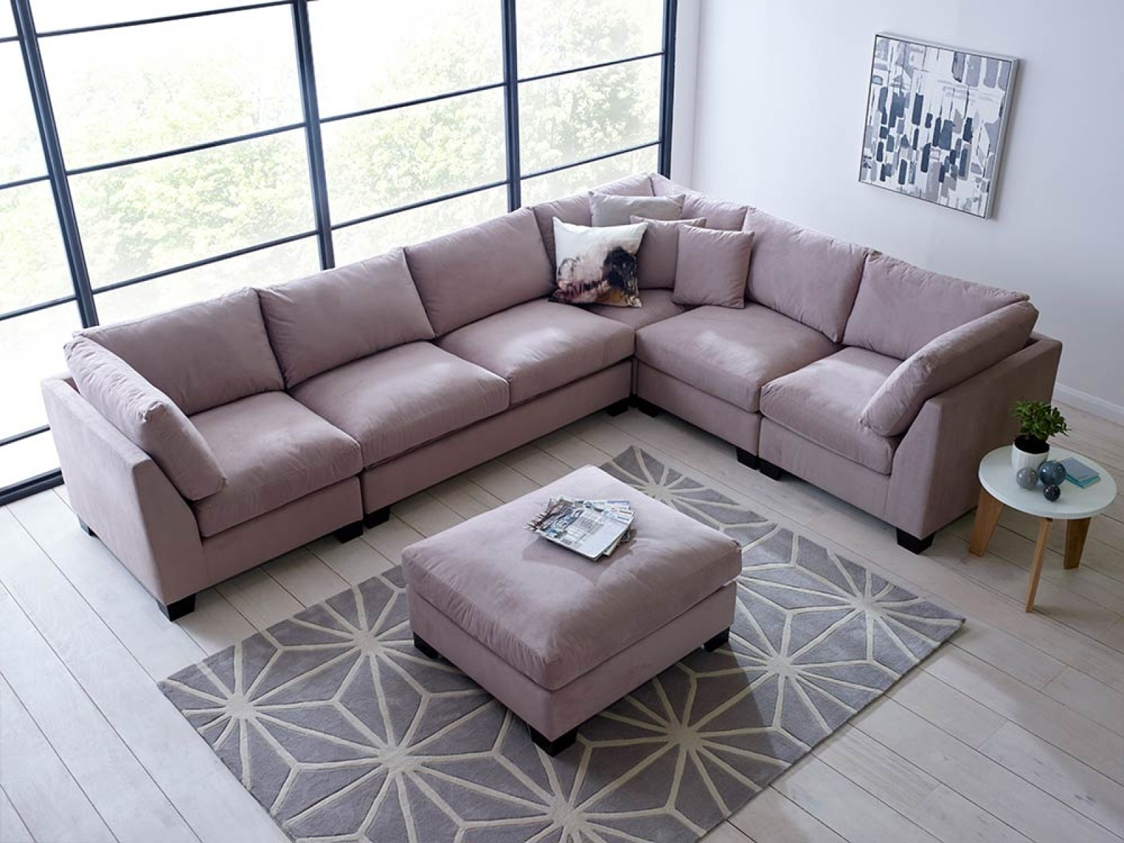 Modular Sofas, Sectional Sofas | Living It Up Throughout Sectional Sofas That Can Be Rearranged (Image 5 of 10)