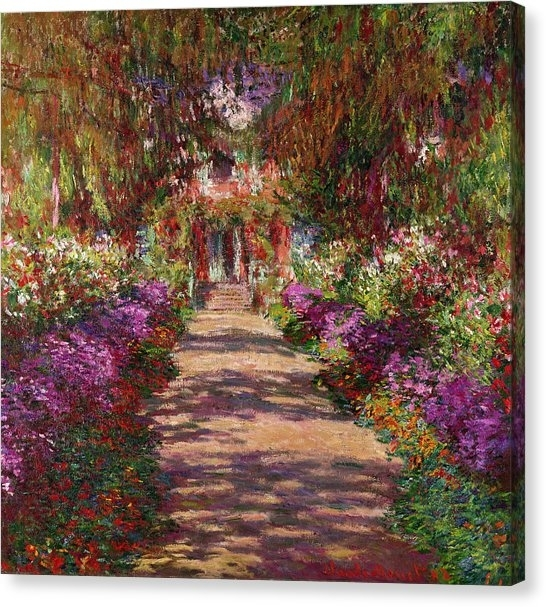 Monet Canvas Prints | Fine Art America With Monet Canvas Wall Art (Image 11 of 15)