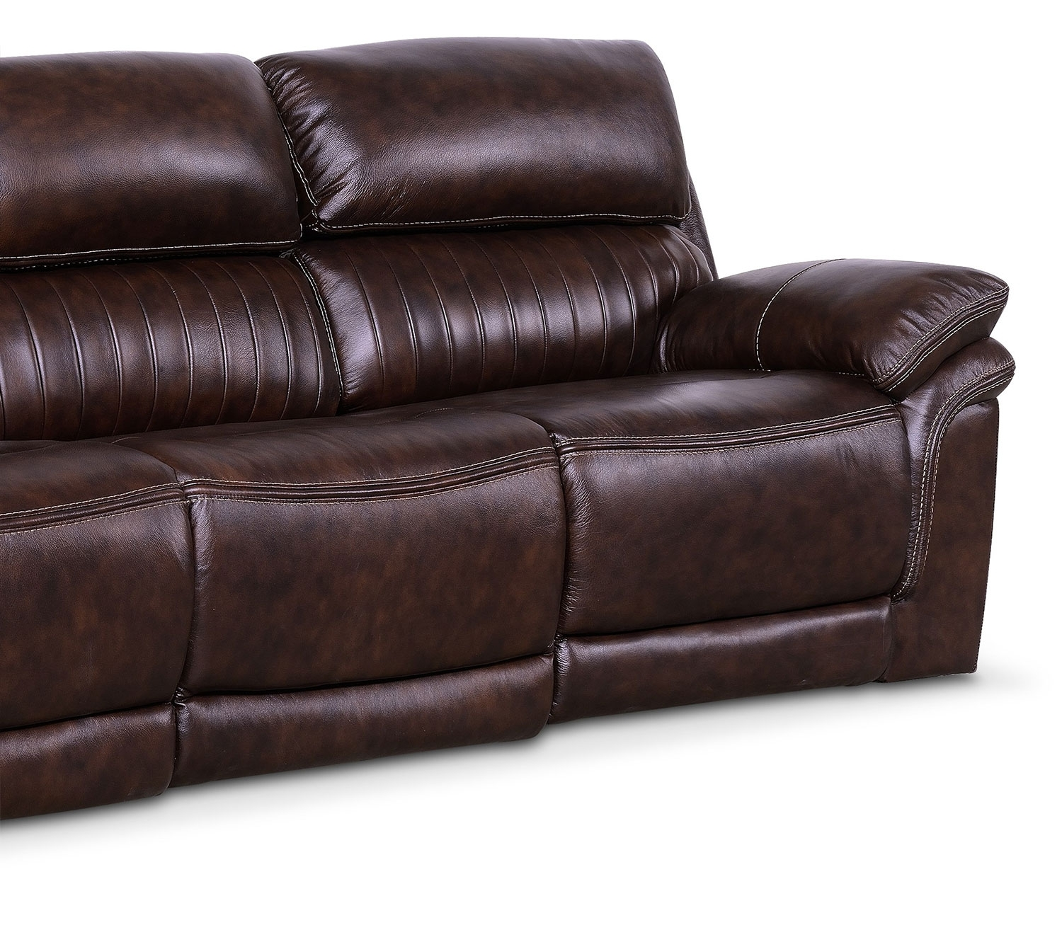 Monterey 3 Piece Power Reclining Sofa – Chocolate | American With Regard To Recliner Sofas (Image 6 of 10)