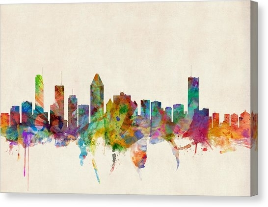 Montreal Canvas Prints | Fine Art America Throughout Montreal Canvas Wall Art (View 9 of 15)
