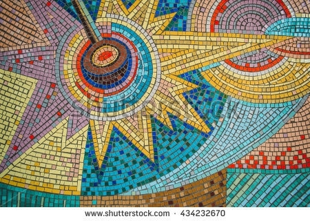 Mosaic Stock Images, Royalty Free Images & Vectors | Shutterstock Throughout Abstract Mosaic Wall Art (Image 12 of 15)