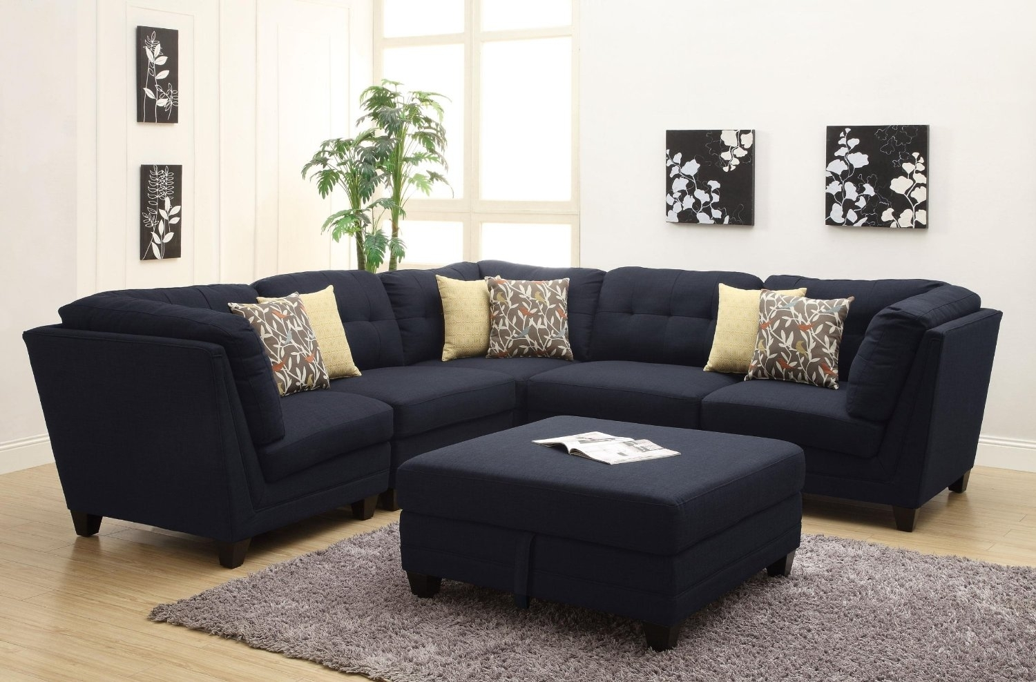 Most Comfortable Sectional Sofa For Fulfilling A Pleasant Atmosphere Pertaining To Comfy Sectional Sofas (Image 6 of 10)