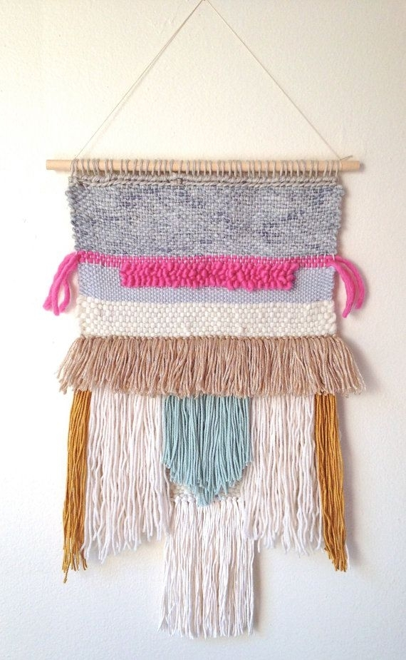 Most Interesting Woven Tapestry Wall Hangings With Amazing Ideas Intended For Woven Fabric Wall Art (Image 10 of 15)