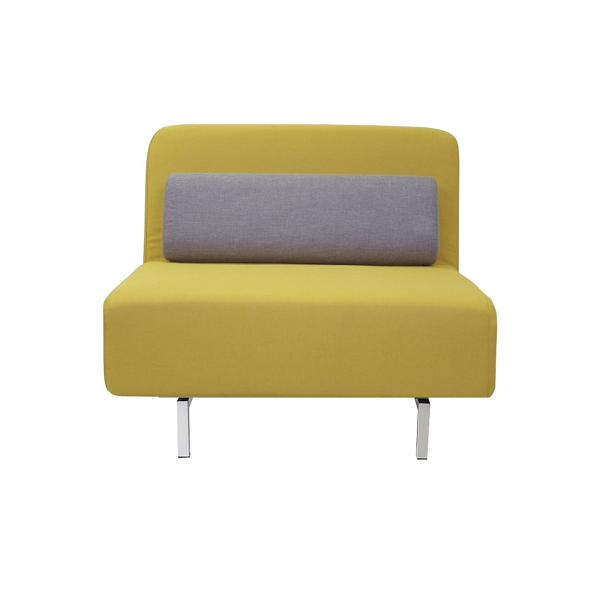 Muddler Sofa Bed – Yellow/grey | Sofas | Living | Nood Nz Intended For Single Sofas (Image 5 of 10)
