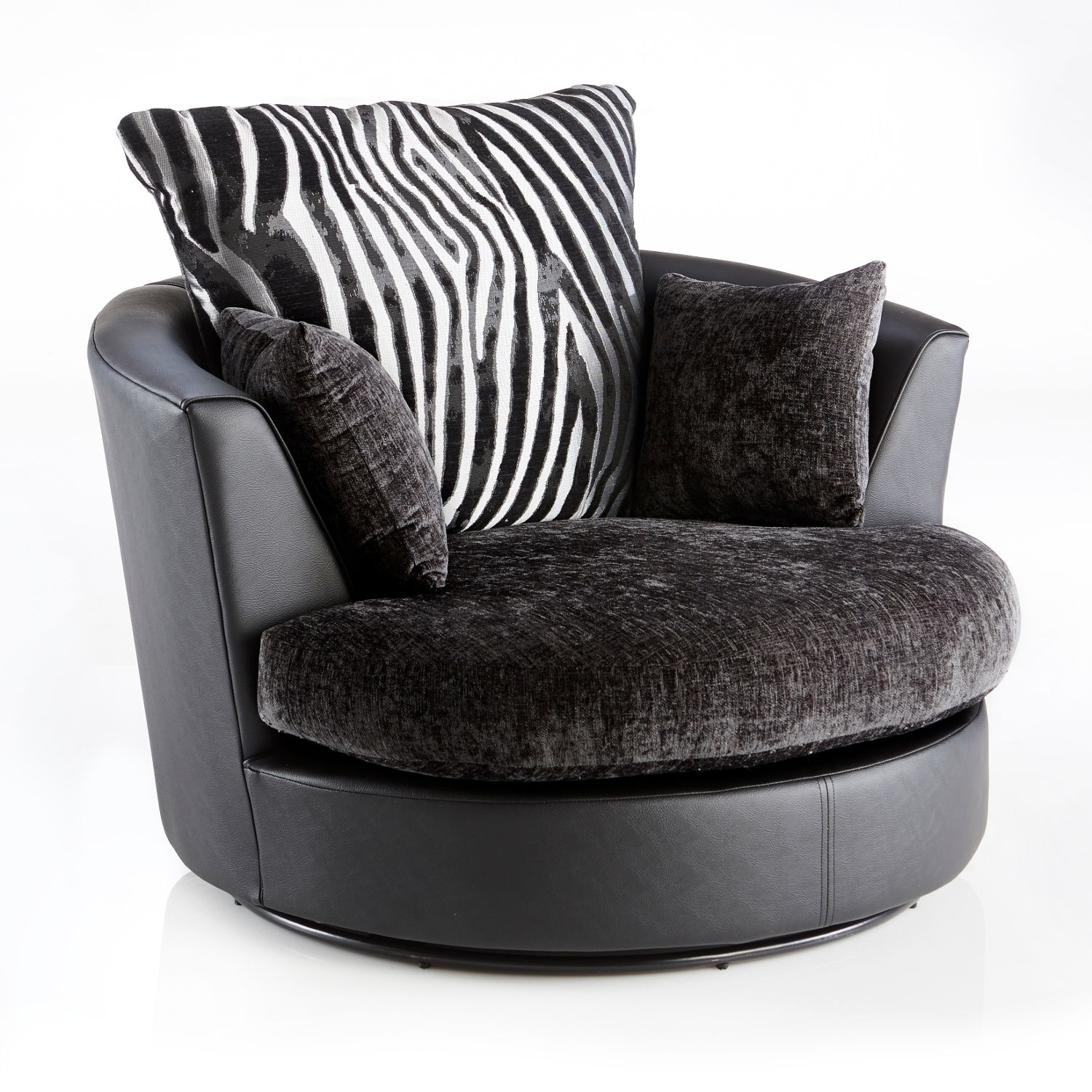 10 inspirations sofas with swivel chair sofa ideas. Black Bedroom Furniture Sets. Home Design Ideas