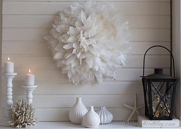 My Diy African Juju Hat Knockoff Inside Diy Wall Accents (View 12 of 15)