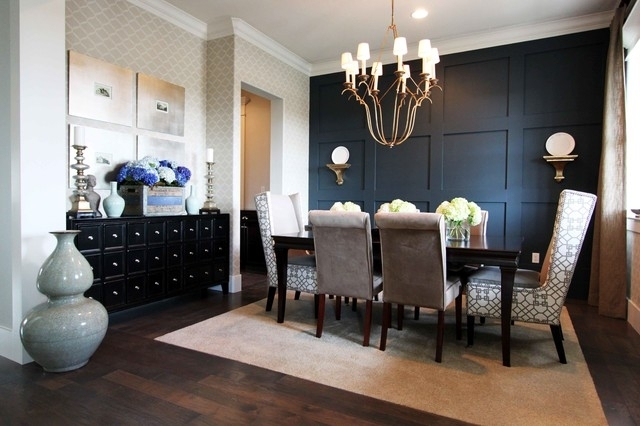Nate Fischer Recent Projects – Contemporary – Dining Room – Orange For Dining Room Wall Accents (View 14 of 15)